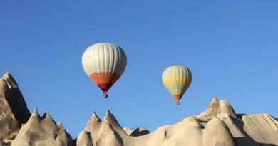 lot balonem w Turcji