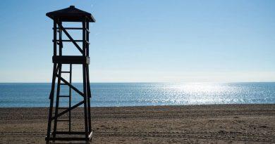 jesień w Turcji na plaży