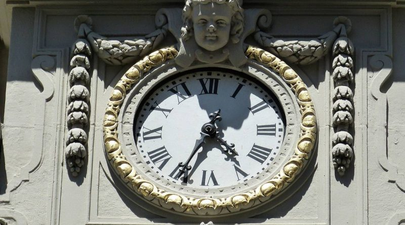 zegar w Istambule