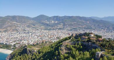 Alanya wzgórze